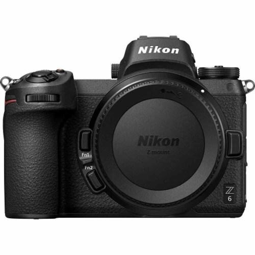 Nikon Z 6 24.5mp Mirrorless Digital Camera + Nikkor Z 24-70 F/4 Ftz Essential Kit Perspective: back