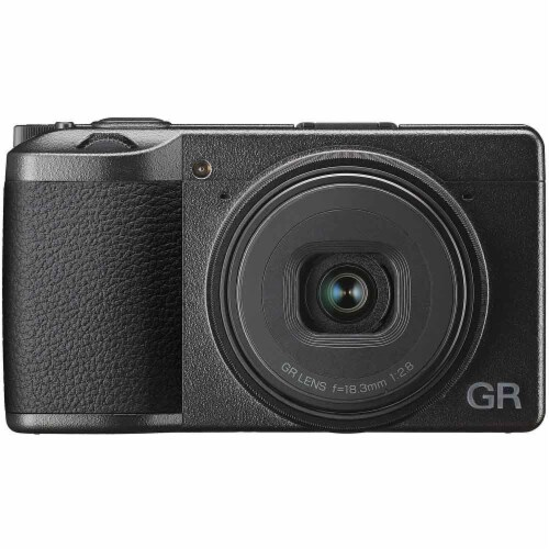 Ricoh Gr Iii Digital Camera With 32gb Top Accessory Kit Perspective: back