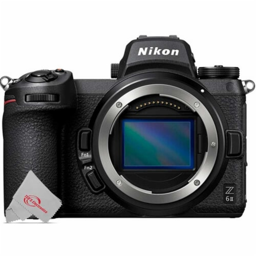 Nikon Z6 Mkii Fx-format 24.5mp Mirrorless Camera Body With Mount Adapter Ftz Perspective: back