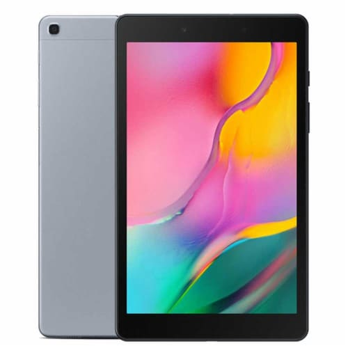 """Samsung 10.1"""" Galaxy Tab A 32gb Tablet Wi-fi Only, Gold With Two 32gb Microsd Card Kit Perspective: back"""