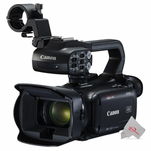Canon Xa40 Professional Uhd 4k 20x Optical Zoom Lens Camcorder + Microphone Kit Perspective: back