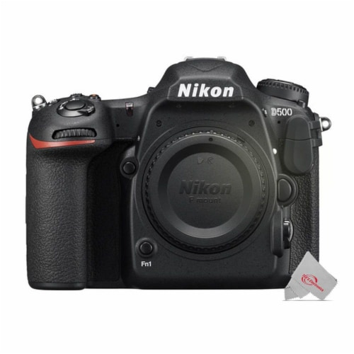Nikon D500 D-slr 20.9mp Camera Body With Two Packs Nikon En-el15 Rechargeable Battery Perspective: back