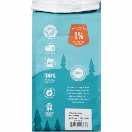 Caribou Coffee Caribou Blend Medium Roast Decaffeinated Ground Coffee Perspective: back