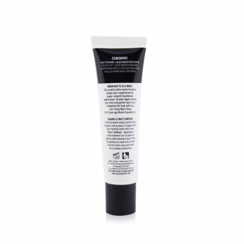 NYX Professional Makeup Can't Stop Won't Stop Matte Primer Perspective: back