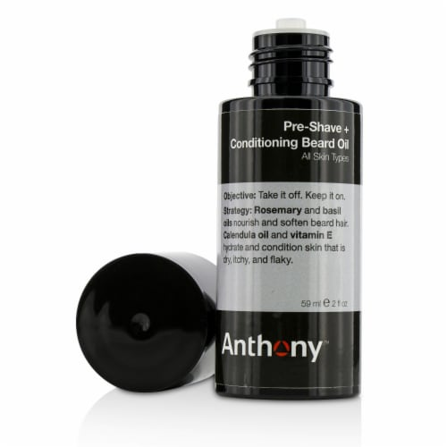 Anthony Logistics For Men PreShave + Conditioning Beard Oil  For All Skin Types 59ml/2oz Perspective: back