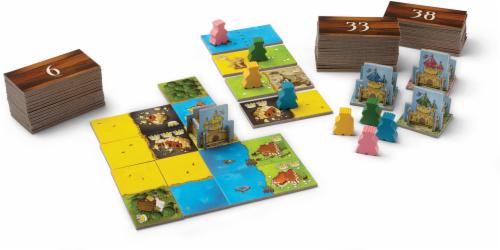 Blue Orange Kingdomino Board Game Perspective: back