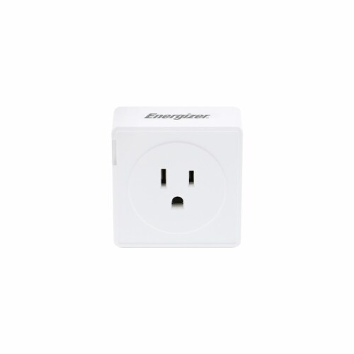 Energizer Connect EIE3-1001-WHT Smart Plug with Energy Monitor Perspective: back