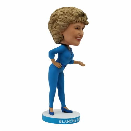 The Golden Girls 8 Inch Resin Bobblehead | Blanche Devereaux Perspective: back