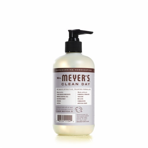 Mrs. Meyer's Clean Day Lavender Liquid Hand Soap Perspective: back