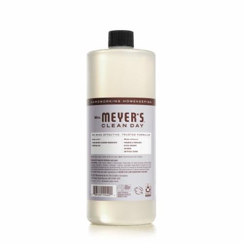 Mrs. Meyer's Lavender Multi Surface Cleaner Perspective: back