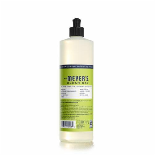 Mrs. Meyer's® Clean Day Lemon Verbena Dish Soap Perspective: back