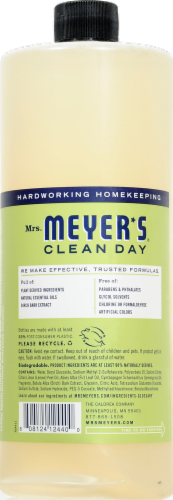 Mrs. Meyer's Clean Day Lemon All-Purpose Cleaner Perspective: back