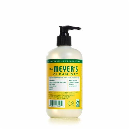 Mrs. Meyer's Honeysuckle Liquid Hand Soap Perspective: back