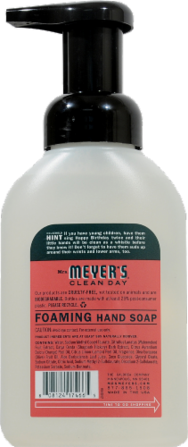 Mrs. Meyer's Clean Day Watermelon Foaming Hand Soap Perspective: back