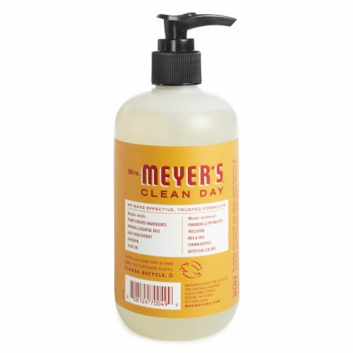 Mrs. Meyer's Clean Day Apple Cider Scent Hand Soap Perspective: back