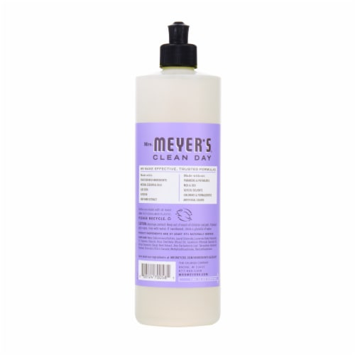 Mrs. Meyer's Clean Day Lilac Dish Soap Perspective: back