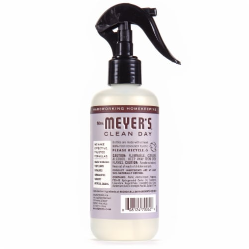 Mrs. Meyer's Clean Day Lavender Room Freshener Perspective: back