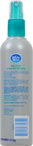 White Rain Unscented Extra Hold Non-Aerosol Hair Spray Perspective: back