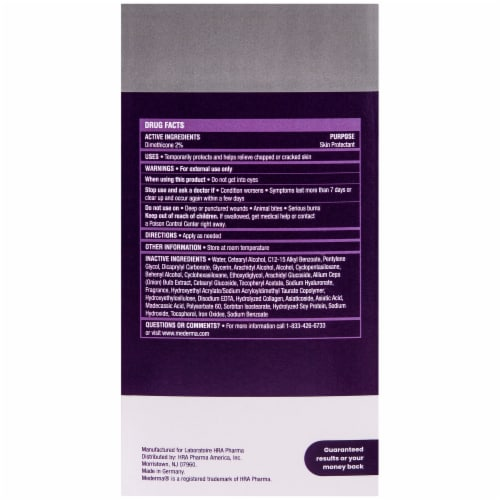 Mederma Stretch Marks Therapy Skin Protectant Cream Perspective: back