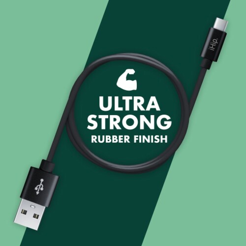 Ihip 6ft Pvc Type-c Charging Cable For Android Perspective: back