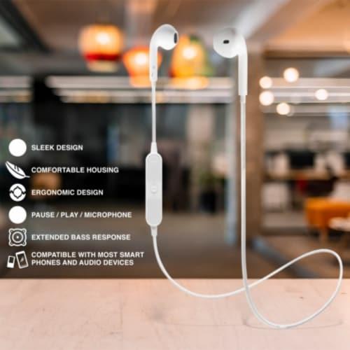 Ihip Wireless Headphones Earbuds Perspective: back