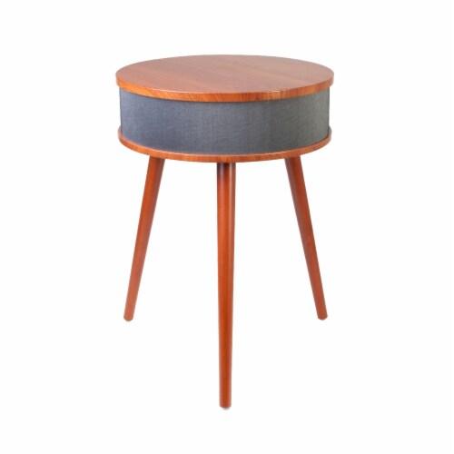 Wireless Speaker Table Perspective: back
