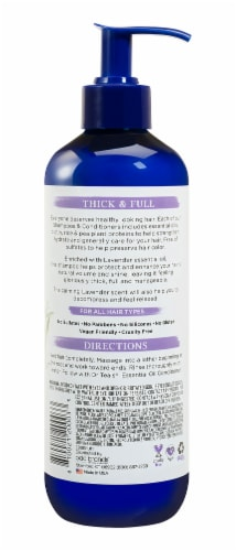Dr Teal's Lavender Thick & Full Shampoo Perspective: back