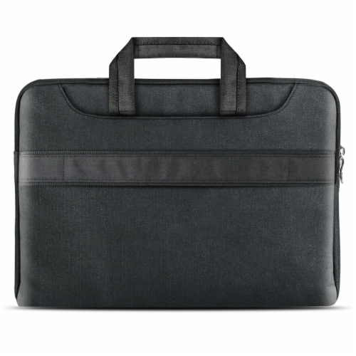 iBenzer Laptop Computer Sleeve Carrying Case Bag with Shoulder Strap Perspective: back