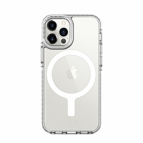 Prodigee iPhone 12 Magnetic Cell Phone Case - White Perspective: back