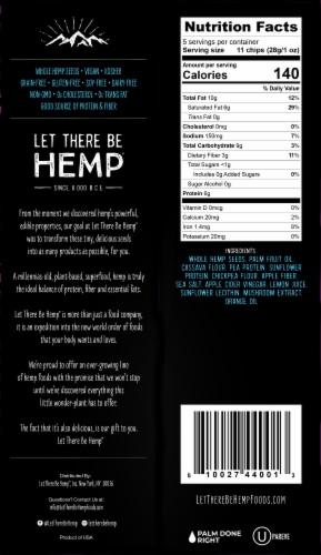 Let There Be Hemp™ Original Grain-Free Hemp Chips Perspective: back
