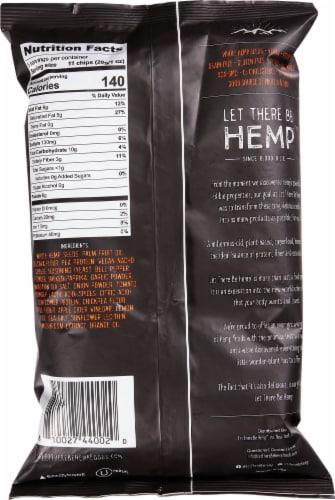 Let There Be Hemp Vegan Nacho Grain-Free Hemp Chips Perspective: back