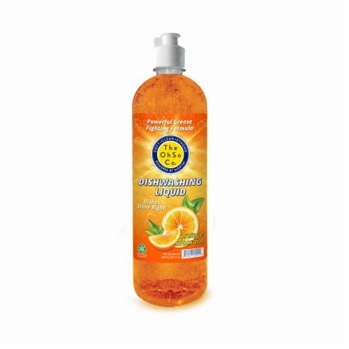The Ohso Co. 33.8oz Dish Soap - Orange Blossom Perspective: back