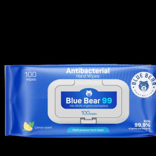 Antibacterial Wipes - (24) 100 Sheet Packs Perspective: back