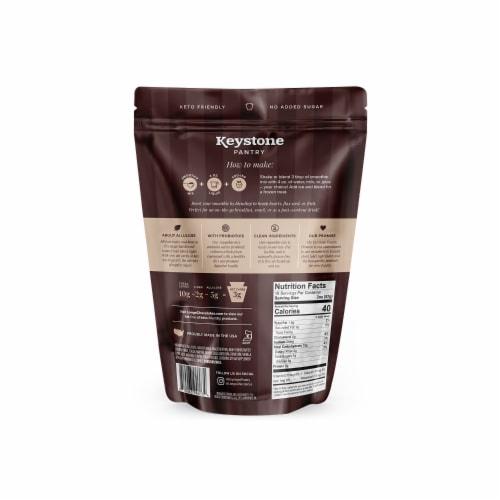 Keystone Pantry chocolate keto smoothie mix 2 pound pouch certified kosher dairy (kof-k) Perspective: back