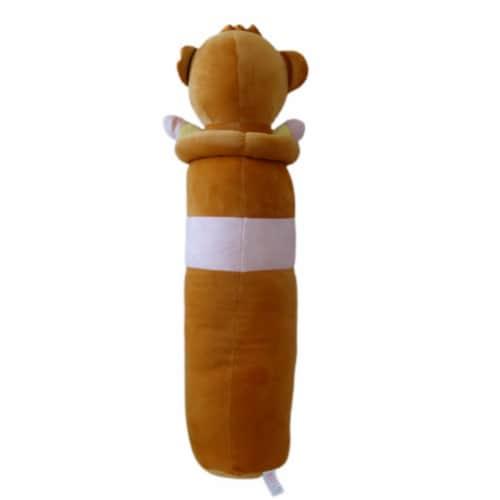 Monkey Plush Pillow | Swiss Jasmine Plushies | Stuffed Monkey Plush | Sleep Pillow 35 Inches Perspective: back