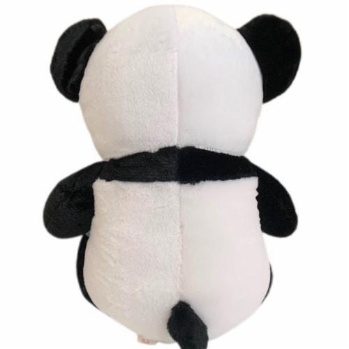 Panda Bear Stuffed Animal   Swiss Jasmine® Plushies   Bear Pillow 20 Inches Perspective: back