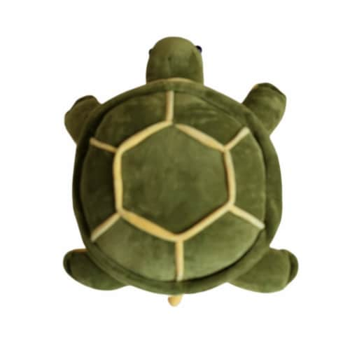 Sea Turtle Plush Toy   Turtle Stuffed Animal   Swiss Jasmine® Plushies   Plush Toy 12 Inches Perspective: back