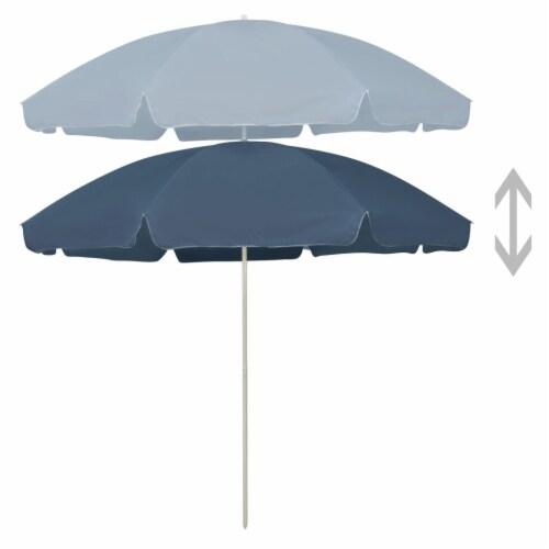 vidaXL Beach Umbrella Blue 118.1 Perspective: back
