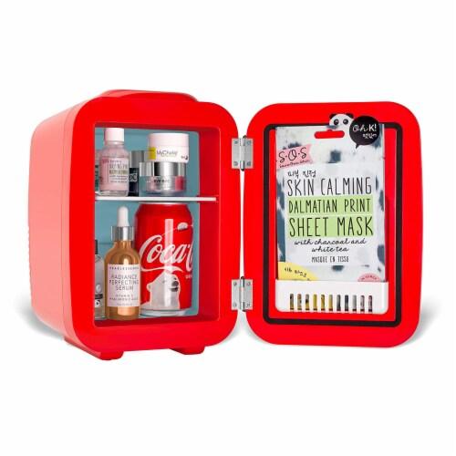 Cooluli Coca-Cola Vintage Chic 4 Liter Portable Compact Mini Fridge Perspective: back