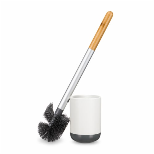 Full Circle Toilet Scrub Brush Perspective: back
