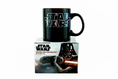 Star Wars Lightsaber Mug | Star Wars Heat Changing Mug | Holds 20 Ounces Perspective: back