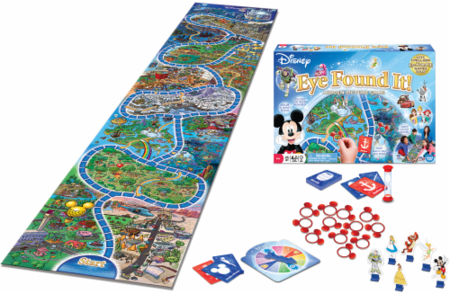 Disney Eye Found It Hidden Picture Board Game Perspective: back
