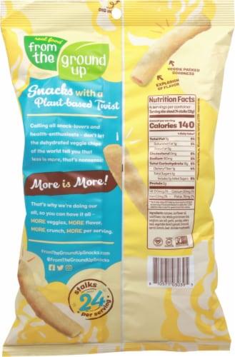 From The Ground Up® Gluten Free Sea Salt Cauliflower Stalks Snacks Perspective: back