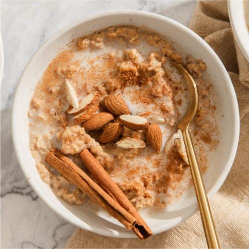 Purely Elizabeth® Classic Cinnamon 5 Grain + Seed Oatmeal Perspective: back