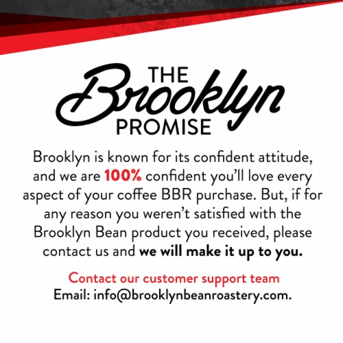 Brooklyn Beans Medium Roast Ground Coffee,  Brooklyn Bridge,  six-12 Ounce Bags Perspective: back