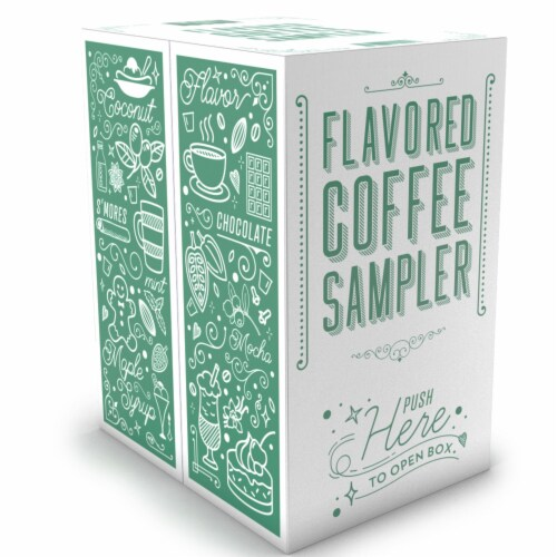 Two Rivers Flavored K-Cups, Coffee Pods Variety Pack for Keurig K-Cup 40 Count Perspective: back