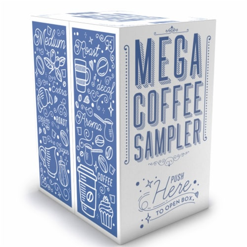 Two Rivers Coffee Pods for Keurig 2.0,  Coffee Lovers Variety Pack, 40 Count Perspective: back