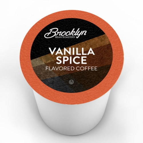 Brooklyn Bean Roastery Flavored Coffee Pods,for Keurig ,Vanilla Spice,40 count Perspective: back