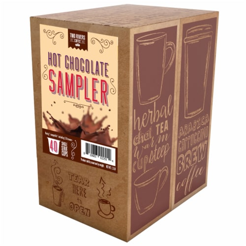 BEST Of The BEST Hot Chocolate K-Cups Variety Pack for Keurig K-Cup Brewers, 40 Count Perspective: back