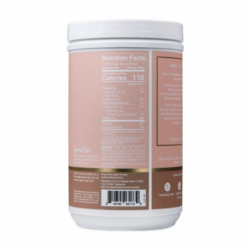 Tone It Up® Chocolate Plant-Based Protein Powder Perspective: back